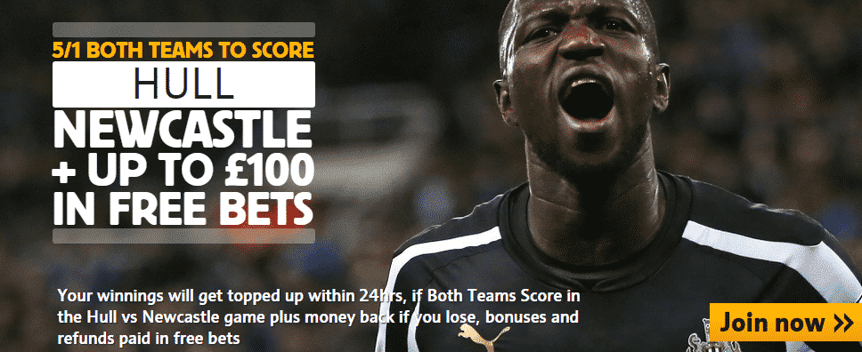 hull v newcastle offer