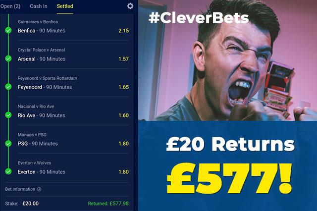Football betting accumulator