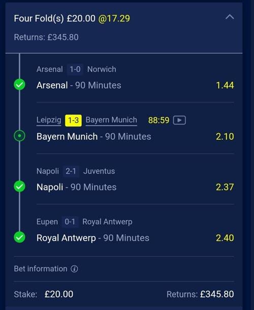 winning accumulator betting slip